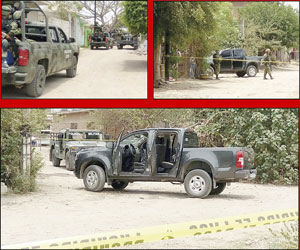 Balacera causa pánico en Villa Unión