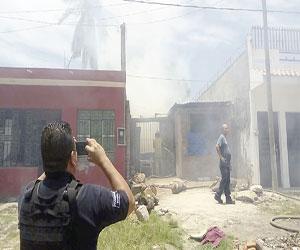 Se incendia casa en la Independencia
