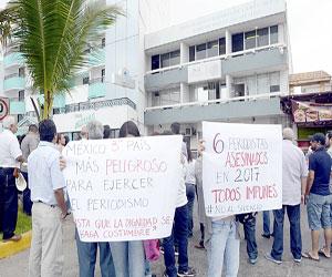 Exigen Justicia por Asesinato de Periodista