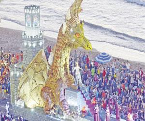 Preparan carrozas alegóricas con brillo, elegancia y seguridad para próximo Carnaval