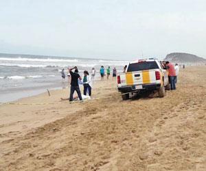 Hallan Cuerpo de Joven desaparecido en el Mar