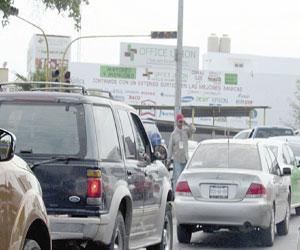 Caos vial deja apagón de Semáforos
