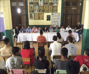 'Es un hecho el edificio de la escuela de la tambora': Germán Lizárraga