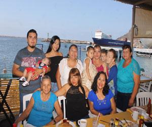 Festejan a Laura López, Charis Vega y Rita Jiménez