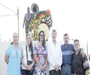 Recuerdan a don Cruz Lizárraga con Homenaje