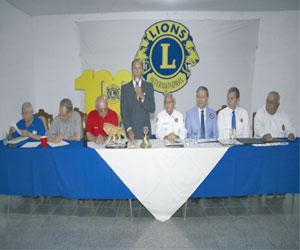 Reciben a nuevos socios en Club de Leones de Mazatlán, A. C.