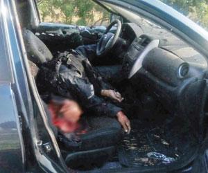 Matan al comandante de la estatal preventiva y lesionan a policía Municipal