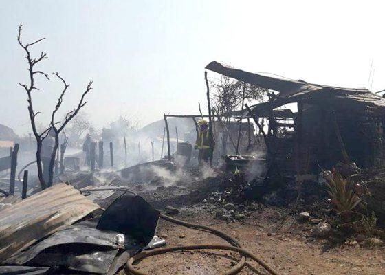 Se queman más de 15 casas en la Invasión Canaco