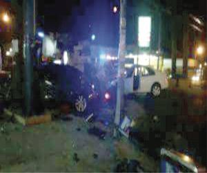 Choque en la Ejército Mexicano deja tres heridos