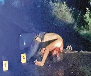 Aparece Ejecutado en la Mazatlán–Durango