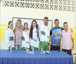 Representarán Tres karatecas  porteños a México en Panamericanos