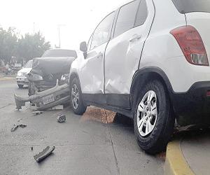 No respetar un alto provoca Accidente