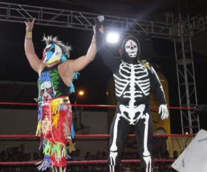 La Parka y Psycho se llevan la noche en Mazatlán