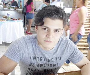 Festejan cumpleaños de Luis Fernando Larrañaga