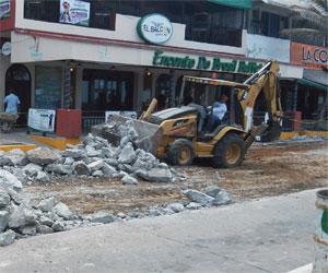 Obras no son complementarias; lamentable falta de drenaje pluvial: García Canizález
