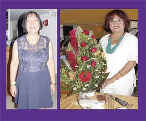 ¡Feliz cumpleaños! Para Paty Humbert y Mercedes López