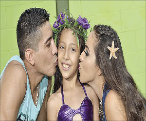 Tiene divertida fiesta Mía Gabriela Cortez