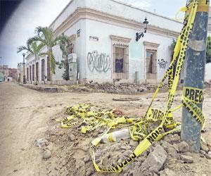 Tendrá Centro Histórico señalización: Obras Públicas
