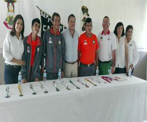 Tres fueron los deportistas con capacidades diferentes y alumnos del Centro de Atención Múltiple (CAM 8), que representaron a Sinaloa en la Paralimpiada Nacional efectuada en Colima, quienes lograron medallas para el puerto. Foto: El Sol de Mazatlán.