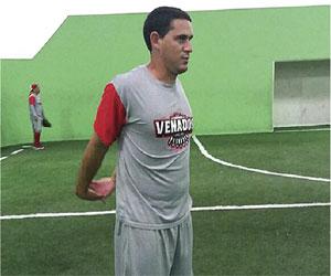 Se viste Yoandy Fernándezde Venado
