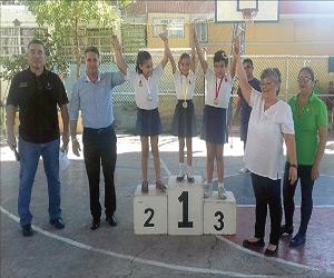 al culminar el eventose otorgaron las medallas a los mejores de cada rama y categoría. Foto: El Sol de Mazatlán.
