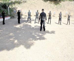 Finaliza Inecipe curso de tiro a policías de Investigación de la FGE