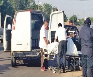 Matan a dos personas que viajaban en una camioneta