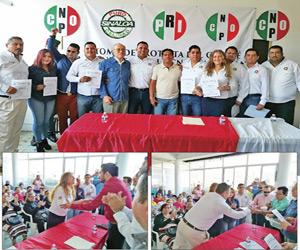 Toma Protesta Comité de la CNOP para el Periodo 2017-2019