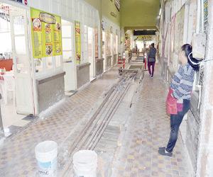 Avance del 37 por ciento en Remodelación del Mercado Pino Suárez