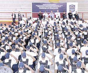 Concluyen Curso de Formación Inicial 26 cadetes, en el Inecipe