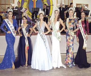 Pasarela de bellezas en el certamen Reina Internacional del Pacífico 2018