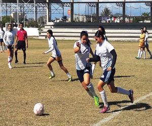 Reparten unidades en la Liga Estudiantil Femenil de Fútbol