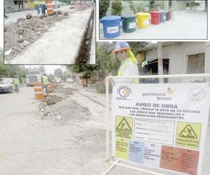Inician en Mazatlán la instalación  del uso doméstico para el gas natural
