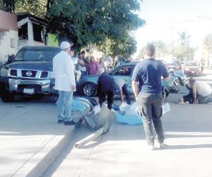Mueren dos mujeres tras ser atropelladas en la colonia Díaz Ordaz