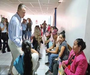 Aplican 80 MDP al Hospital de la Mujer