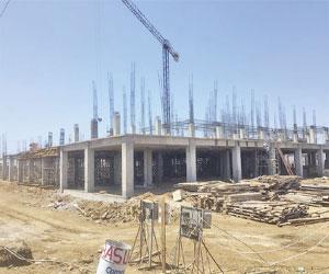Avanza construcción del nuevo Hospital General