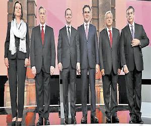 Realizan el Primer Debate Presidencial