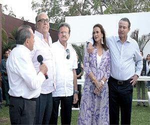 Se reúne Quirino con Empresarios