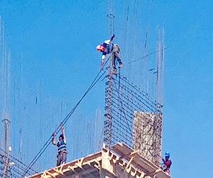 Llaman a utilizar medidas de Seguridad al Construir