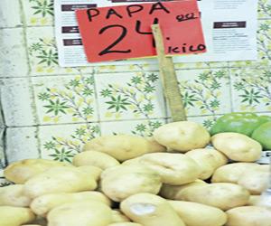 Se Dispara la Papa, 24 pesos el kilo