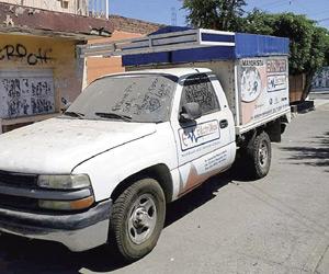 SSPM recupera camioneta Robada
