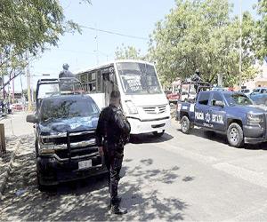 SSPM mantiene revisiones al transporte público