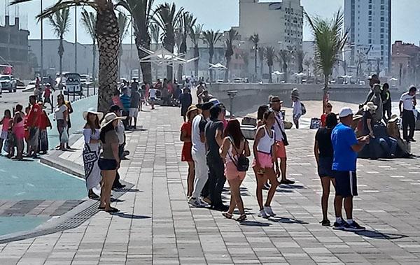 Vive Mazatlán lo fuerte de las vacaciones