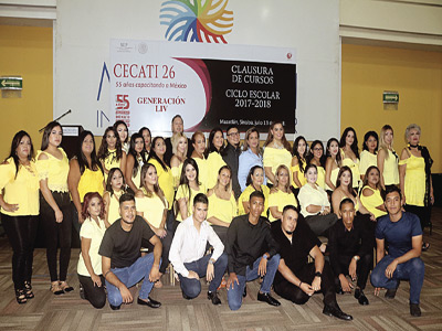 Fin de cursosen CECATI 26