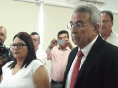 Imelda Castro y Rubén Rocha, Senadores Electos