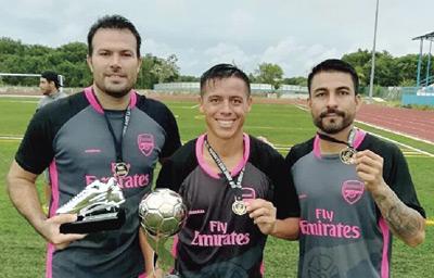 Valdez, Frias y López, buscarán el bicampeonato con Sinaloa. Foto: El Sol de Mazatlán / Cortesía.