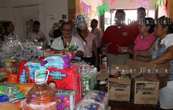 (Galería) MORENA de Mazatlán llevará víveres a damnificados