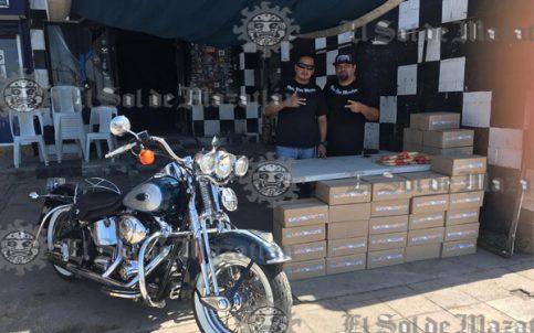 Moto Club Mazatlán abre centro de acopio