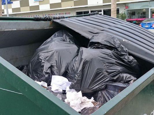 Queda a medias adquisiciones de contenedores de basura