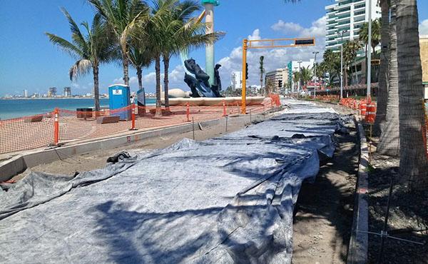 Urgen cuidado en la obra del Malecón